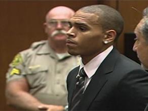 Chris Brown hearing