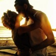 Chris Brown & Girlfriend Karrueche Rock A Romantic Kiss