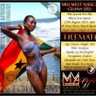 Miss West Africa Ghana 2012 - Fremah