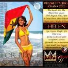 Miss West Africa Ghana 2012 - Helen