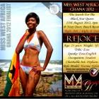 Miss West Africa Ghana 2012 - Rejoice