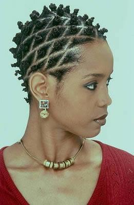 Bantu knots hair style altavistaventures Images