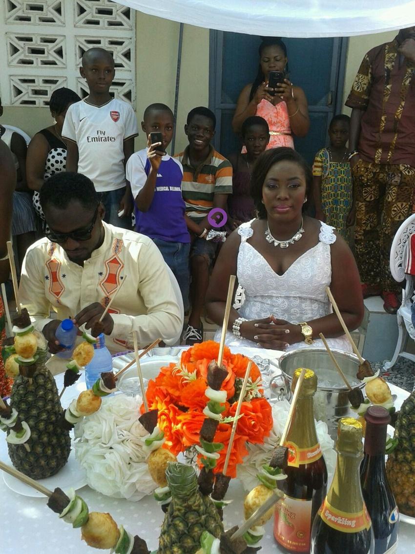 wedding photos funnyface and nana adjoa