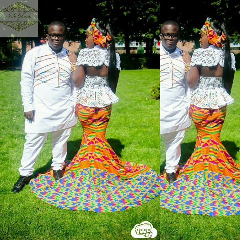 African inspired wedding gowns and themes for Traditional photos