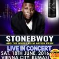 Stonebwoy rock Vienna City – Kumasi