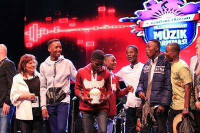 Accra Academy, winners of 2015 Vodafone Icons High School Edition