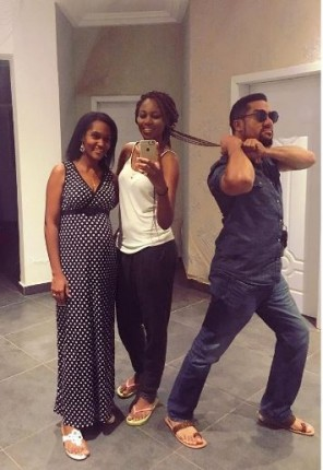 Virna, Yvonne Nelson and Majid