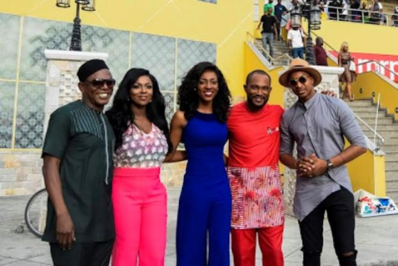 Yvonne Okoro, and casts of the movie
