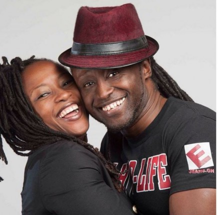 Reggie Rockstone and his wife