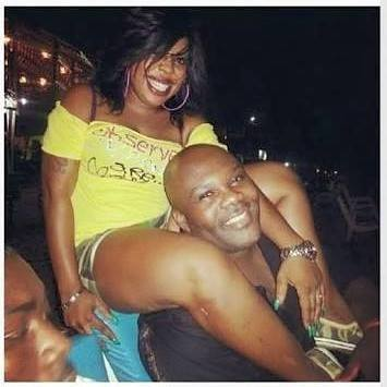 Afia Schwarzenegger with her ex-husband