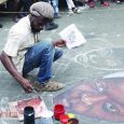 Street arts festival at James Town in Accra
