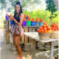 A tomato seller appreciates Yvonne Nelson's Instagram Photo