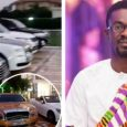 RNS: A look at Nana Appiah Mensah's luxurious cars at his plush mansion inside Trasacco