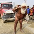 Mind Over Matter: Hindu Bloke Pulls Van Using Just His Manhood
