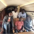 Nana Appiah Mensah jets off to Nigeria with Zylofon Media crew to inspect office