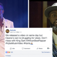 "Sarkodie Calling For A Re-Beef? ""Opana's New Music Video Struggling To Get Views""–Check Sarkodie's Jab To Manifest"