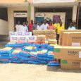 Kalybos & Orkman Company Ltd. Donate Air-condition, Items To Children's Hospital