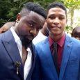 Video: Actor Rahim Banda runs to Nana Appiah Mensah and Bola Ray for help