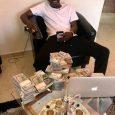 Shatta Wale flaunted dollar bills fake