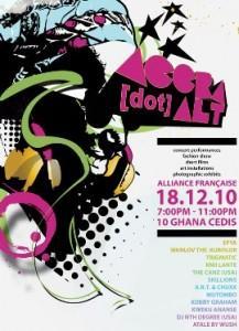 ACCRA [dot] Alt to project Ghanaian creativity