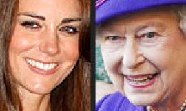 Kate Middleton Attends Lunch with The Queen