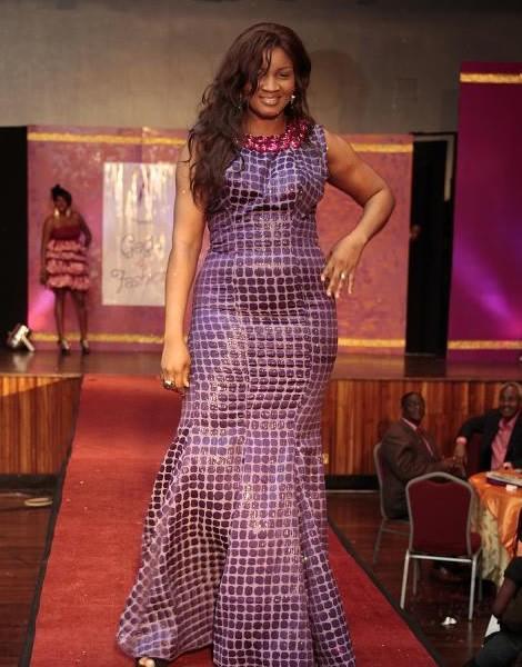 Music meets fashion at 'gaga for fashion' … Omotola, Tonto Dikeh, Laide Bakare lead run way