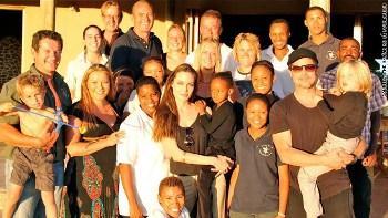 Brad & Angelina donate $2M to Namibia charity