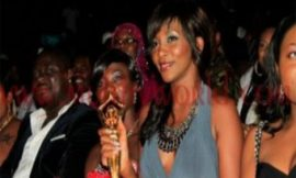 Genevieve Nnaji At The Ghana Movie Awards