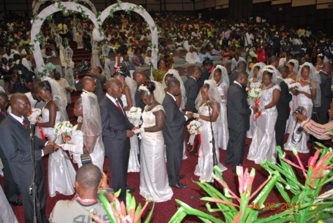 HAPPY FM VALENTINE MASS WEDDING; A HUGE SUCCESS