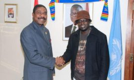 Ofori Amponsah's Official Welcome to NY by the Ghana Missions