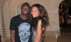 Sulley Muntari and wife, Menaye spotted cruising in Barbados