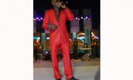 """Amakye Dede's """"Red Tomatoes suit"""" on Fashion 101"""