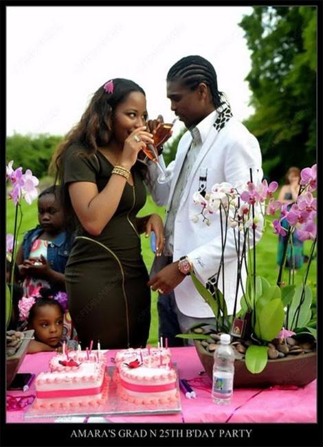 PHOTOS: Soccer Legend Nwankwo Kanu's 25-Year-Old Wife Celebrates Birthday & Graduation