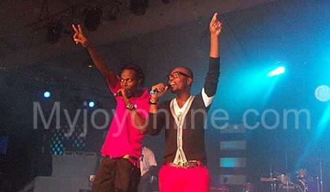 Kwaw Kese and KOD at the album launch. Kwaw Kese's Killa Bewu Last Show sparked a feud between the two