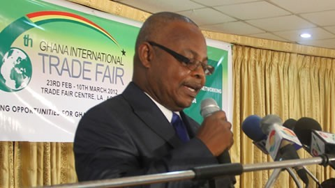 Entertainment Village for the 16th Ghana International Fair