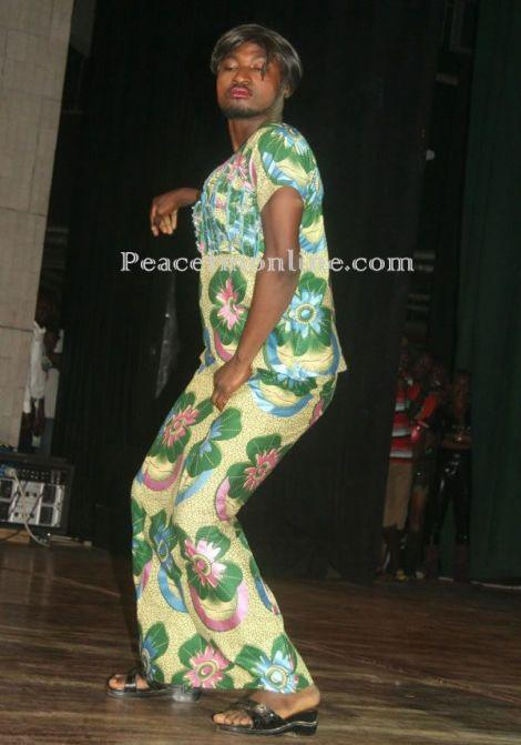 Funny Face Spotted At Becca's GIRL TALK Concert