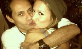 Marc Anthony flaunts new model girlfriend