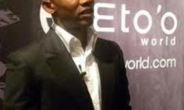 SOCCER STAR SAMUEL ETO'O LAUNCHES OWN MOBILE NETWORK