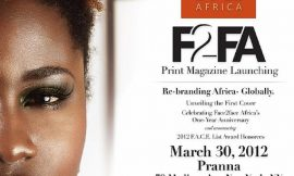 INTRODUCING THE NEW AFRICAN IMAGE: F2FA PRINT MAGAZINE