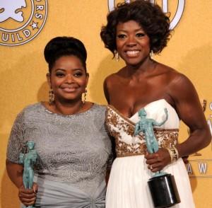 Viola Davis and Octavia Spencer Win Big At SAG Awards