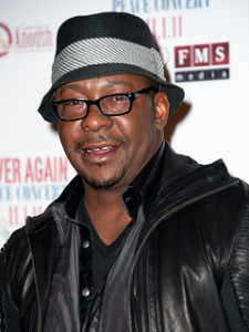 """Bobby Brown """"Energetic and Smiling"""" at His Concert Night of Whitney Houston's Funeral"""