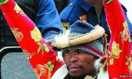 SA 'resurrected singer' detained