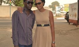 Yvonne Nelson Supports Boy With Glaucoma