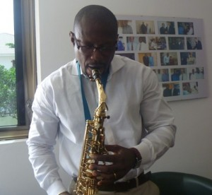Is Kwaku Sakyi Addo also among the musicians?