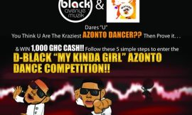D-Black Launches GH¢ 1,000 Cash Dance Competition