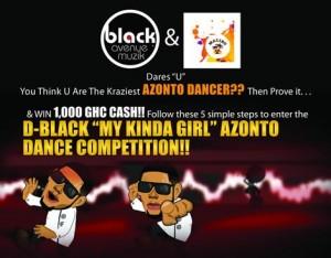 D-Black Launches GH¢ 1,000 Cash Dance Competition