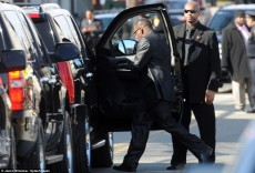 Bobby Brown Storms Out Of Whitney Houston's Funeral