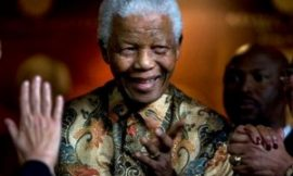 "Nelson Mandela Hospitalized But ""Not In Danger"""