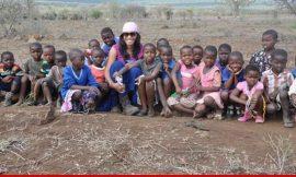 Ne-Yo's Girlfriend 'Adopts' 48 African Children