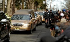Whitney Laid To Rest Beside Father Today